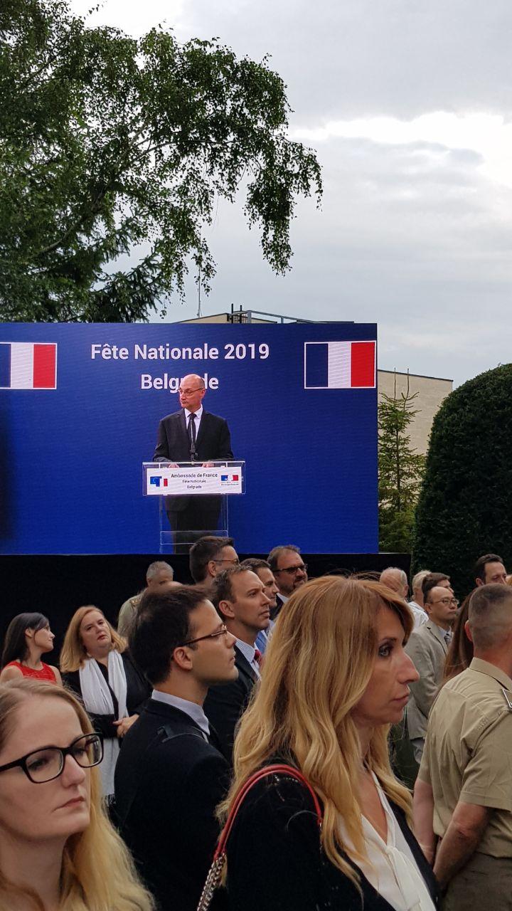 Photo of Dan državnosti Republike Francuske: Predstavnici Pirota na prijemu u ambasadi