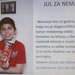 HITNO POTREBNA POMOĆ - Našem malom sugrađaninu Nemanji Cvetkoviću neophodna pomoć humanih ljudi