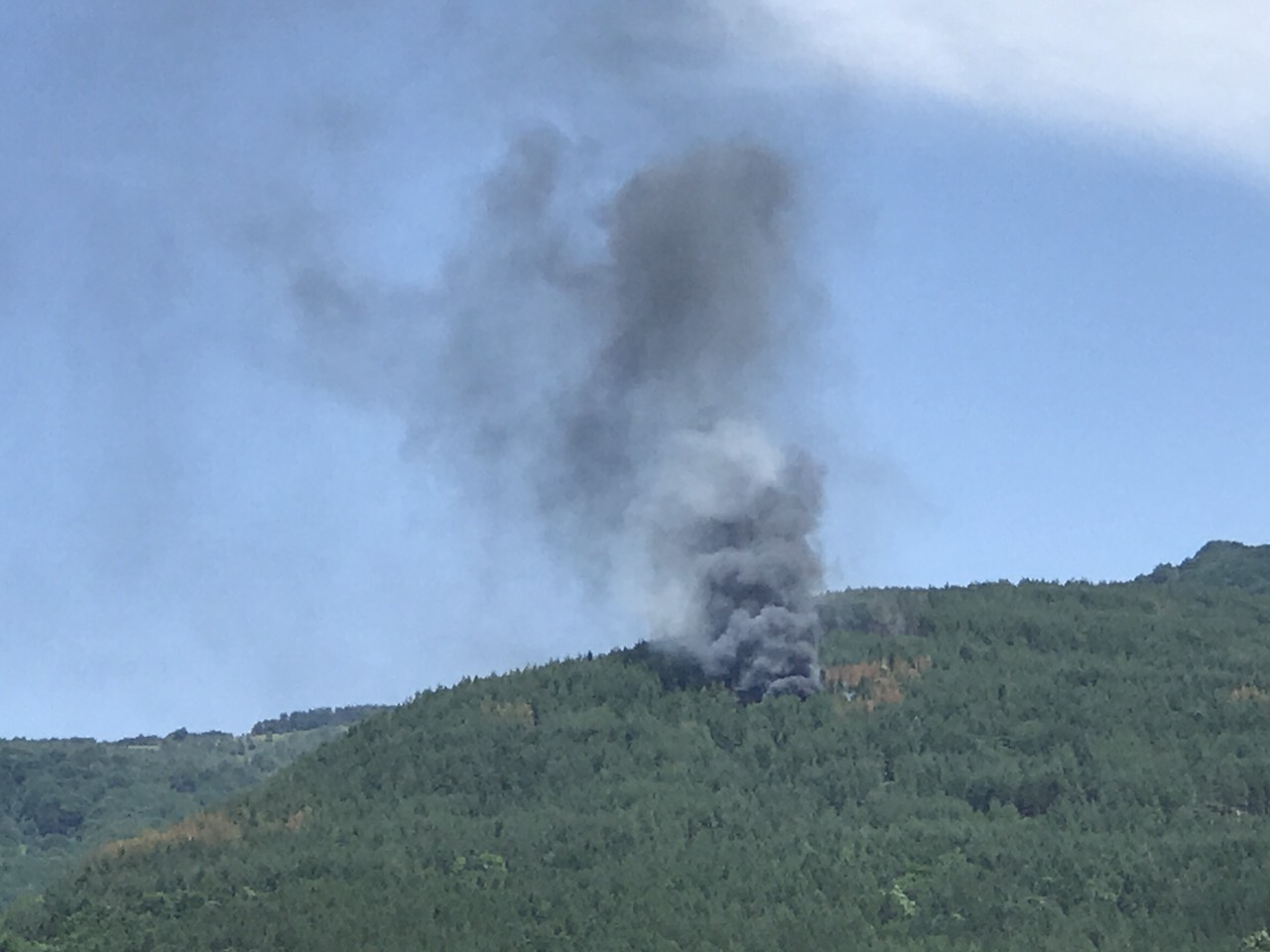 Photo of Stara planina: Radna mašina zapalila  borovinu!