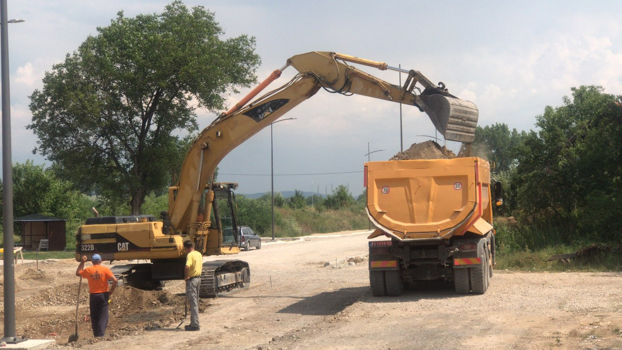 Photo of Širi  se centralno gradsko jezgro, uskoro asfaltiranje dela Ulice Ćirila i Metodija i konekcija na Drugi ring