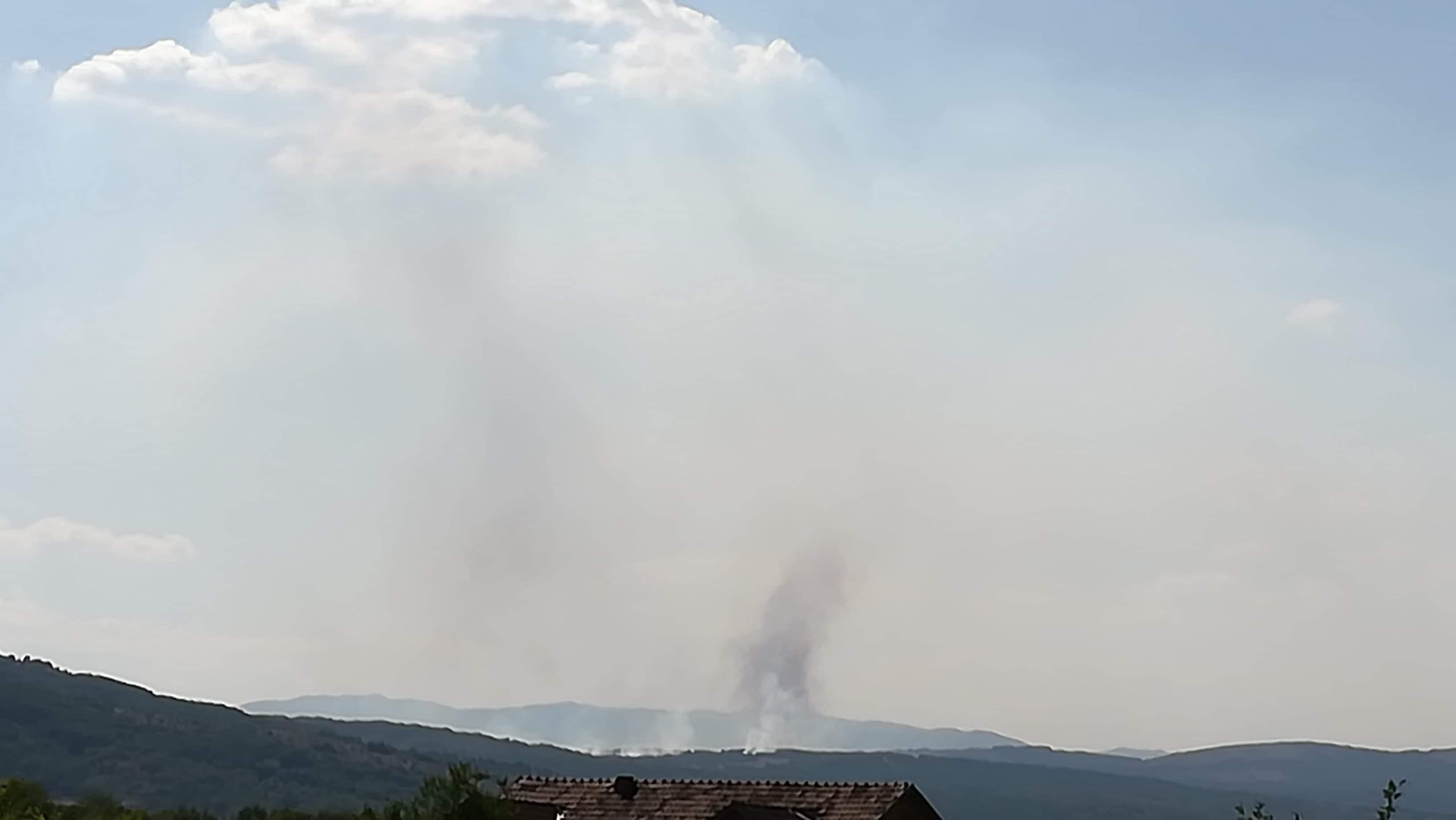Photo of Požar na brdu Kruška