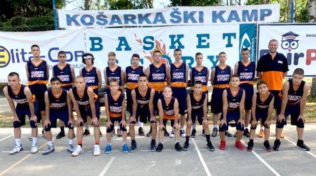 "Photo of KK""Pirot"" učesnik košarkaškog kampa ""Basket Story"" na Vlasini"