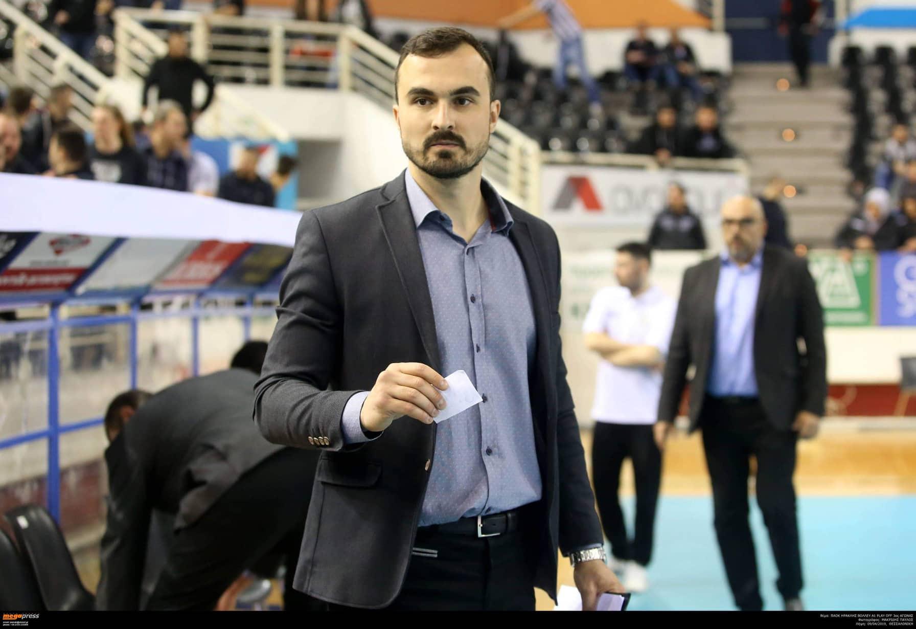 Photo of Čedomir Ilić preuzima kormilo ekipe Amigdaleonas, vodiće i Sarisa odbojkašku akademiju