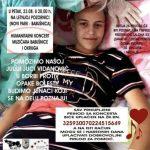 Babušnica: Koncert za pomoć Juliji Juci Vidanović, koja boluje od Juingovog sarkoma