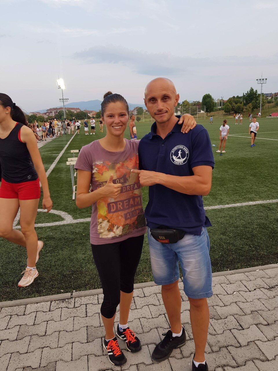 Photo of Danica Gogov druga na Prvenstvu Srbije u Kruševcu