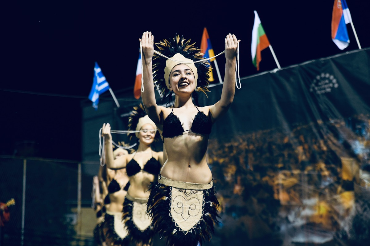 Photo of Otvoren Međunarodni festival folklora. Francuzi predstavili koreografiju iz srednjeg veka. Čileanci oduševili tradicionalnim plesovima
