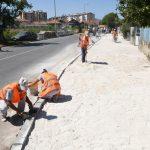 Uređuje se i Ulica Milivoja Manića u naselju Senjak - ulica će biti mnogo dostupnija pešacima nego do sada