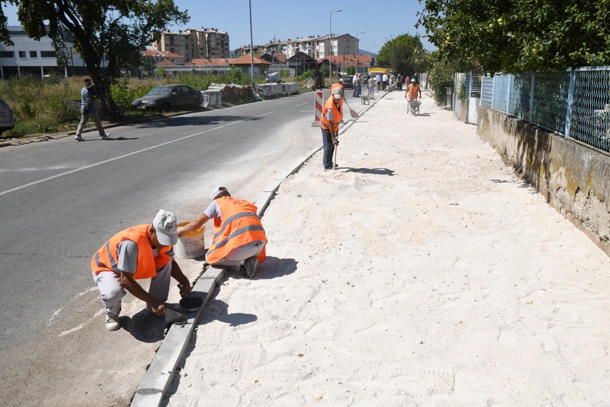 Photo of Uređuje se i Ulica Milivoja Manića u naselju Senjak – ulica će biti mnogo dostupnija pešacima nego do sada