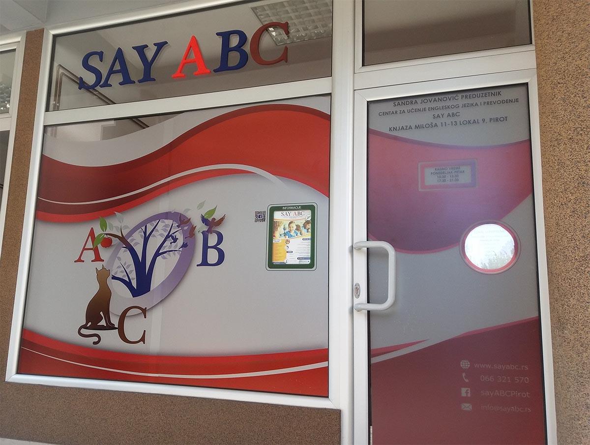 Photo of SAY ABC – upis u novu školsku godinu