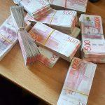 Od početka godine na Gradini zadržano preko milion evra neprijavljenog novca. Juče pronađeno milion švedskih kruna