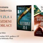 """Gvozden oblaci"" i ""Vetrovi zla""- promocija knjiga Branislava Jankovića u Pirotu"
