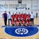 Košarkašice Gimnazijalca plasirale se u jedinstvenu Žensku kadetsku ligu Srbije