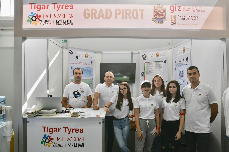 Photo of Grad Pirot na Porodičnom danu bezbednosti kompanije Tigar Tyres
