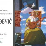 Pola veka slikarskih vibracija - izložba Petra Đorđevića