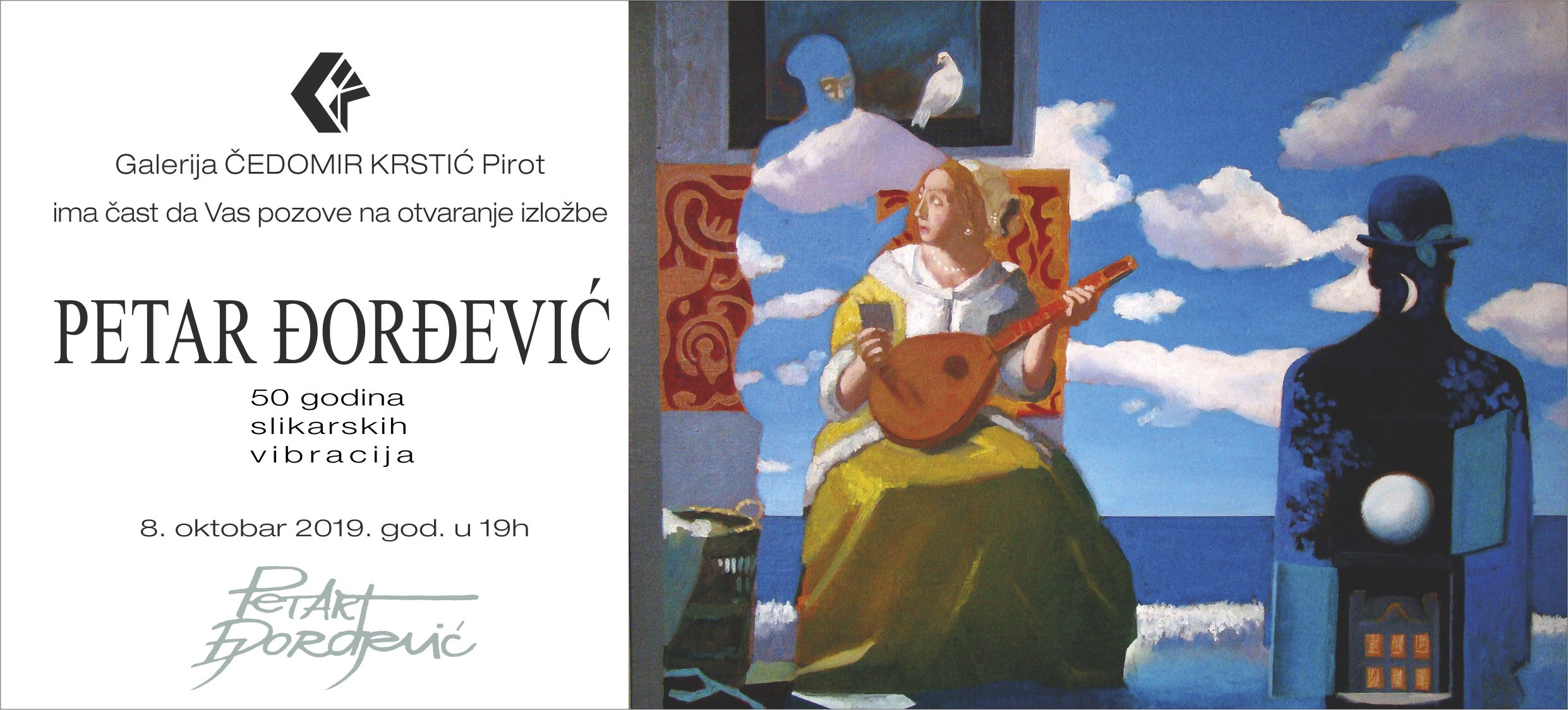 Photo of Pola veka slikarskih vibracija – izložba Petra Đorđevića