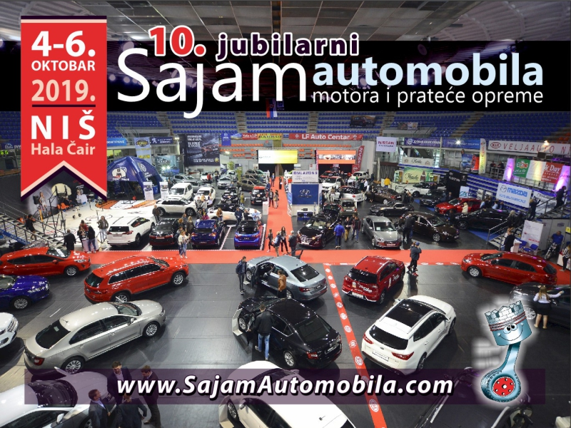 Photo of Sajam automobila u Nišu –  deseti po redu