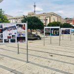 Retrospektiva Pirotskog kulturnog leta na trgu u centru grada