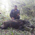 Lovac Dejan Antić sa svojom družinom uspešno štiti staroplaninske njive od divljih svinja