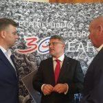 Vasić i Ivanov na prijemu u ambasadi Češke