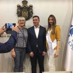 """Prijem u Privrednoj komori Srbije za organizatore Regionalne konferencije """"Jaka žena"""""""