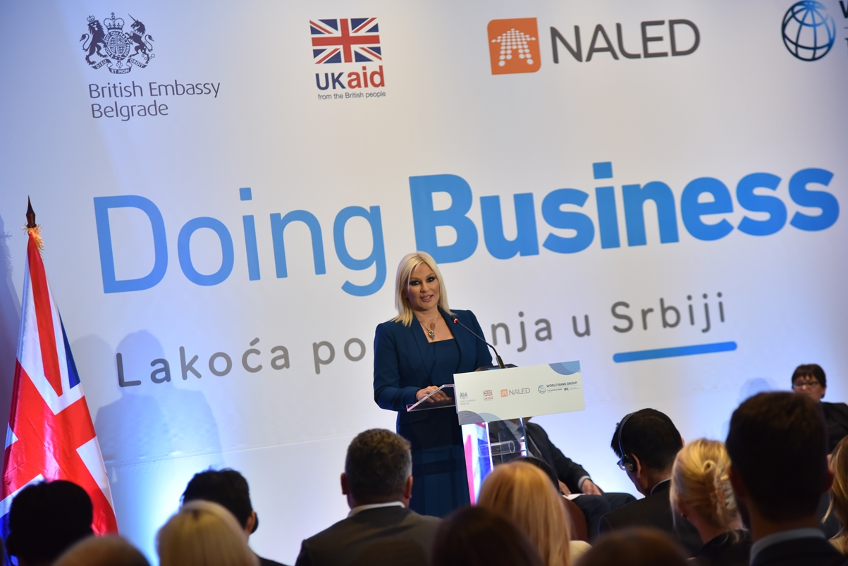 Photo of Ministarstva privrede i građevinarstva kreirala novi  napredak Srbije na Doing Business listi