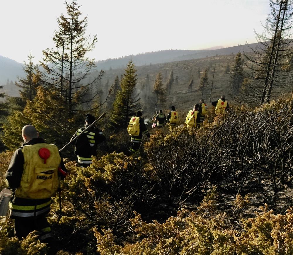Photo of Oni su istinski heroji: Među dobrovoljcima koji su danonoćno gasili požar bio je i Aleksa Živković -pirotski Potrčko