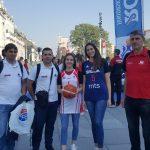 Pirotske košarkašice na promociji Rosa juniorske, Triglav kadetske i Triglav ženske kadetske lige u košarci u Beogradu