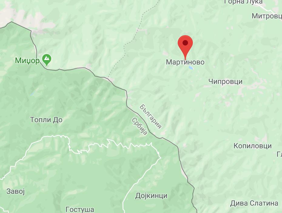 Photo of Bugarski mediji: Požar krenuo zapadno od sela Martinovo u Bugarskoj