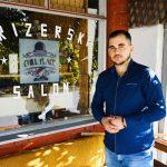 """Zahvaljujući pomoći NSZ i Grada Nemanja Stojčev ostvario svoj san - otvorio prvi frizerski salon u Poljskoj Ržani """"Chill place"""""""