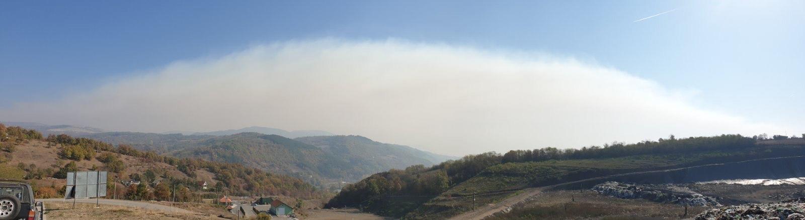 Photo of Ogroman oblak dima i nad Pirotom!
