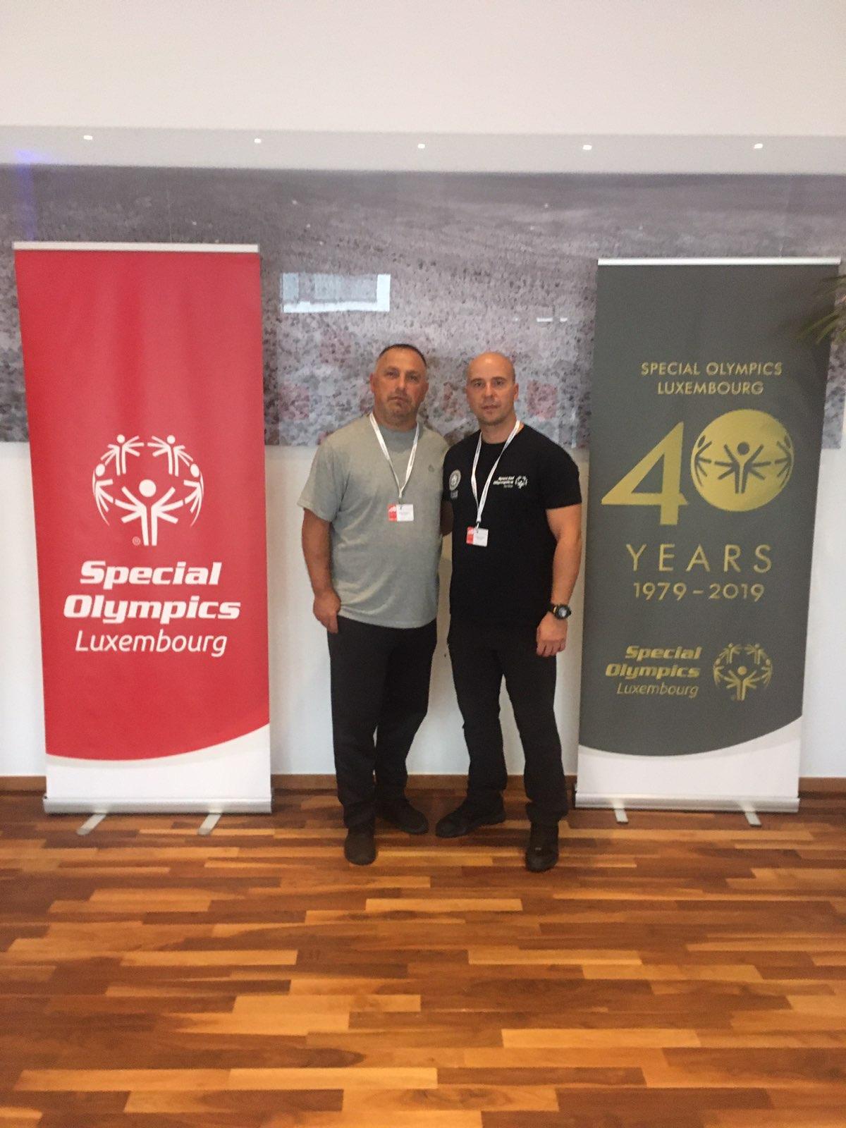 Photo of Pirotski treneri na Godišnjoj konferenciji sportskih direktora i koordinatora Specijalne olimpijade Evrope u Luksemburgu