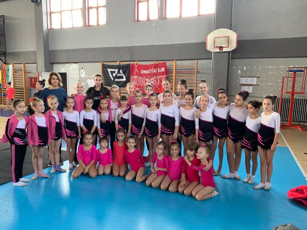 Photo of Uspešan nastup pirotskih ritmičkih gimnastičarki