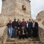 Ambasadori Arapske grupe obišli Kej, tvrdjavu Momčilov grad, Mlekarsku školu, Damsko srce...