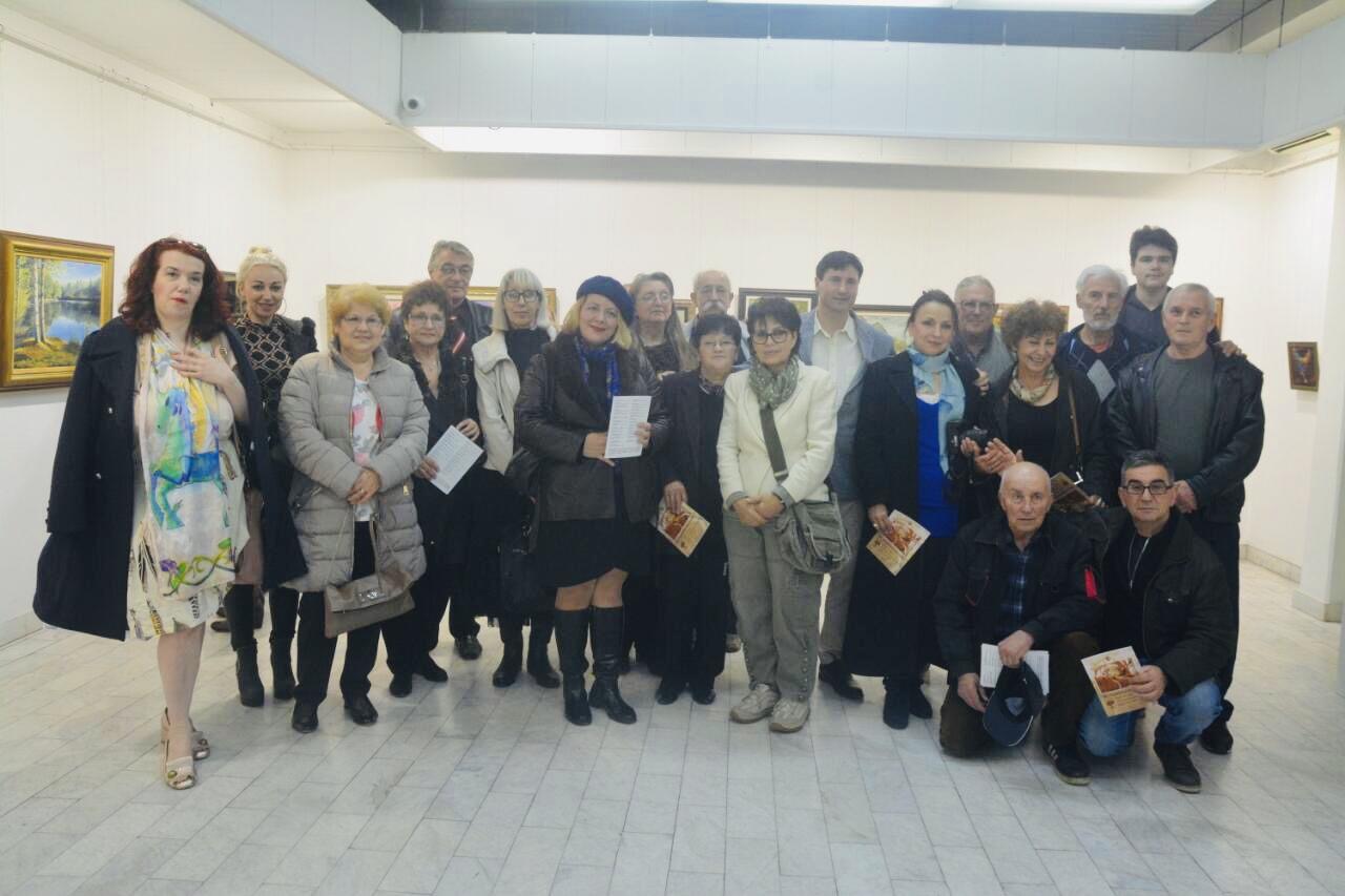 Photo of Otvorena godišnja izložba umetnika članova Pirgos Arta