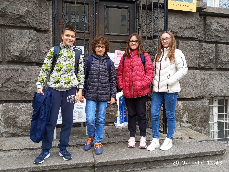 """Photo of Učenici OŠ """"8. septembar"""" briljirali u finalu Dopisne matematičke olimpijade"""