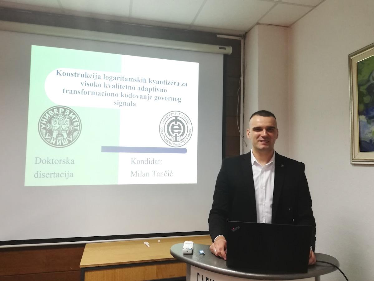Photo of Jedan od najmlađih doktora nauka u istoriji Pirota – dr Milan Tančić ostaje u rodnom gradu u kome vidi svoju budućnost