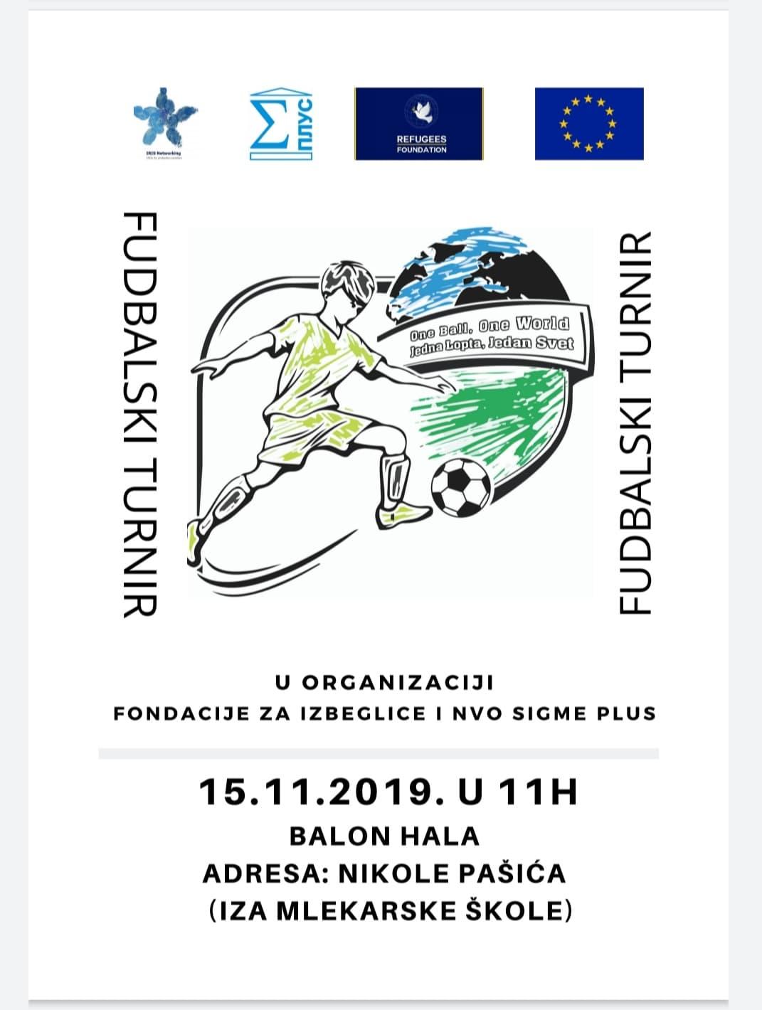 Photo of Fudbalski turnir u Pirotu. Migranti igraju sa mladima iz Pirota