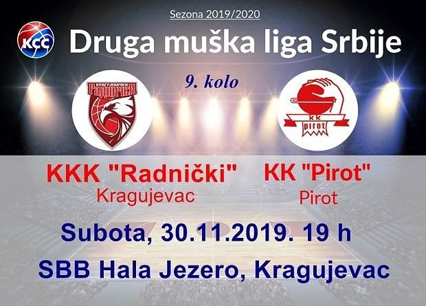 """Photo of Košarkaši Pirota """"napadaju"""" sam vrh tabele. Derbi u subotu u Kragujevcu"""