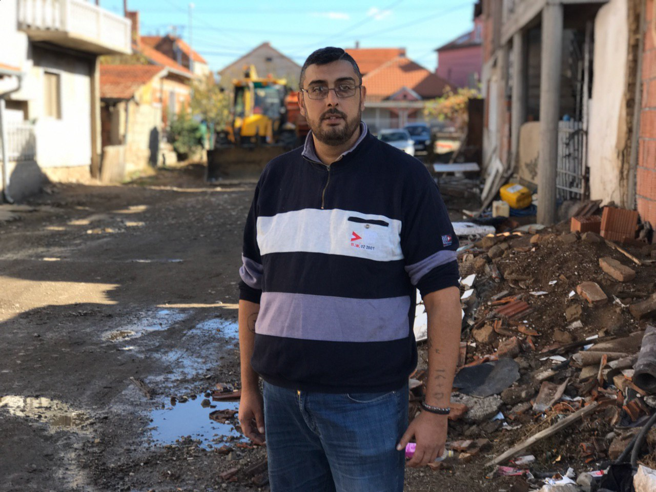 Photo of Asfaltira se i poslednja neasfaltirana ulica u Romskom naselju u Pirotu