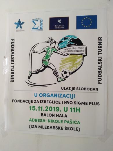Photo of U Pirotu fudbalski turnir migranata