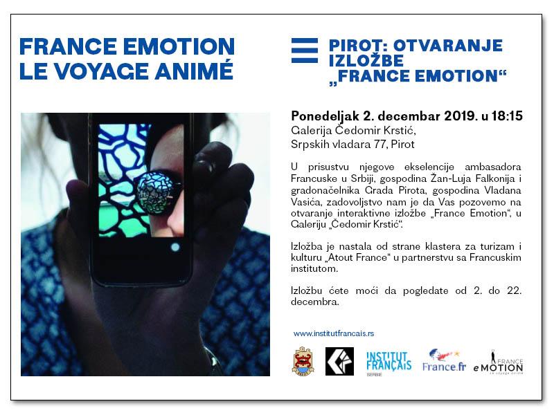 Photo of Francuske emocije – značajna izložba u Galeriji Čedomir Krstić u Pirotu