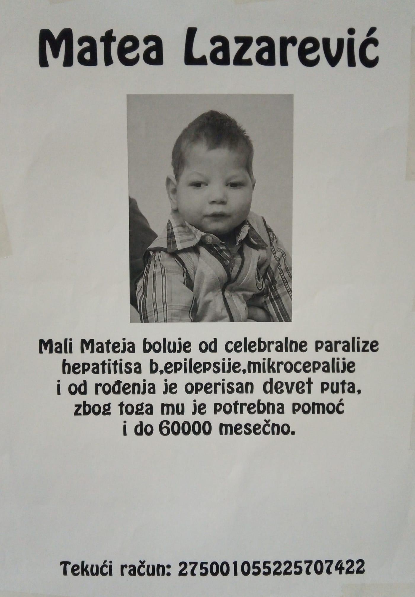 "Photo of ""45 minuta muzike"" – Humanitarni koncert za pomoć malom Matei"