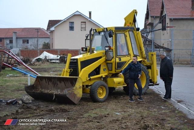 Photo of Nastavak uređivanja dečijeg igrališta u naselju Prisjanski put