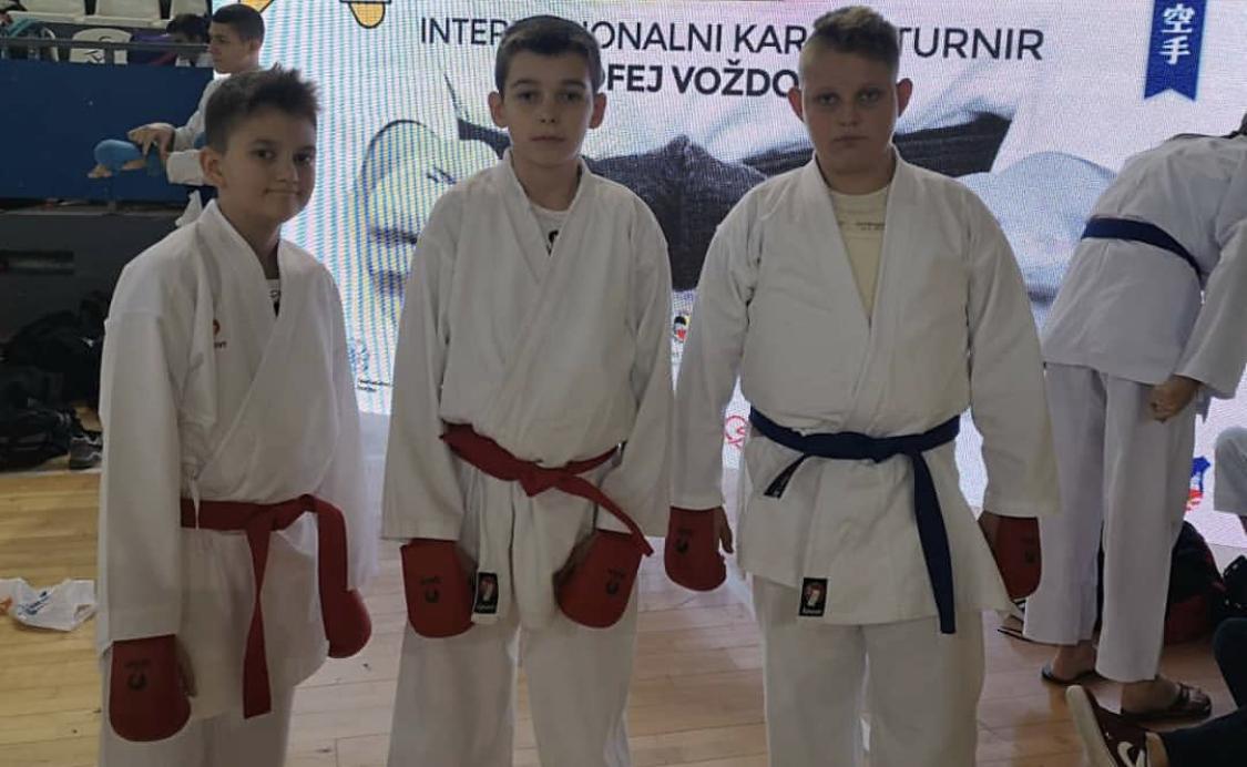 Photo of Mlade nade pirotskog karatea na Medjunarodnom turniru A klase u Beogradu