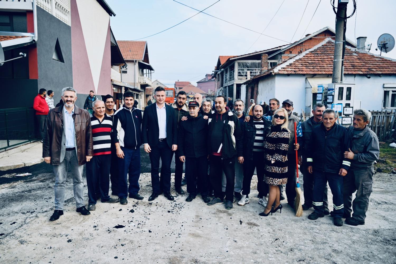 Photo of Asfaltirana Dunavska ulica u Romskom naselju