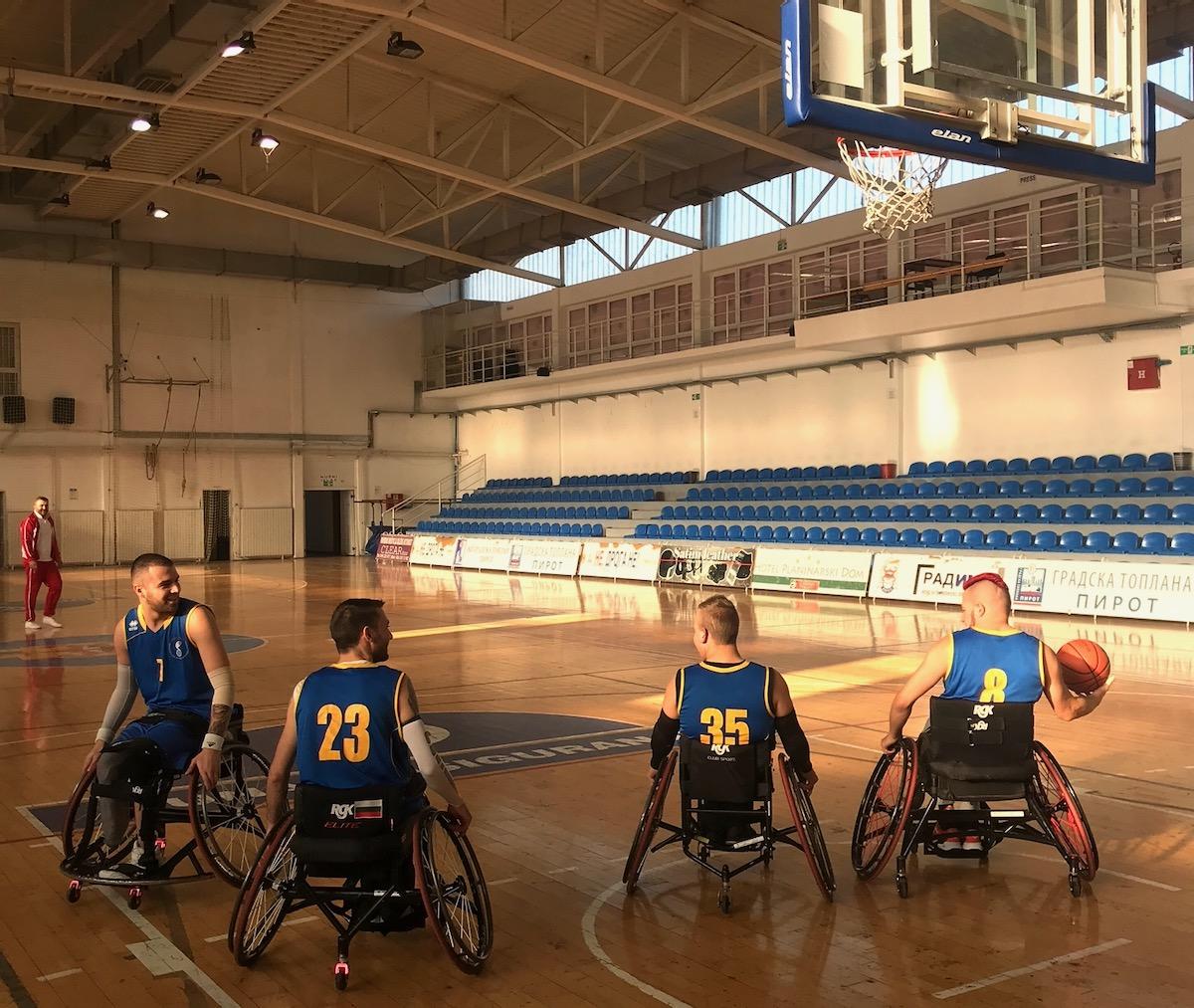 Photo of U hali Kej odigrana prva utakmica košarke u kolicima. Nišlije igrale protiv ekipe iz Bugarske