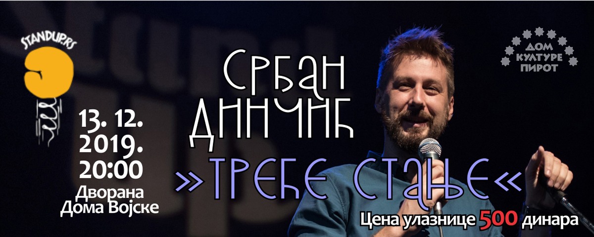 "Photo of ""Treće stanje"" – stendap Srđana Dinčića u Pirotu"
