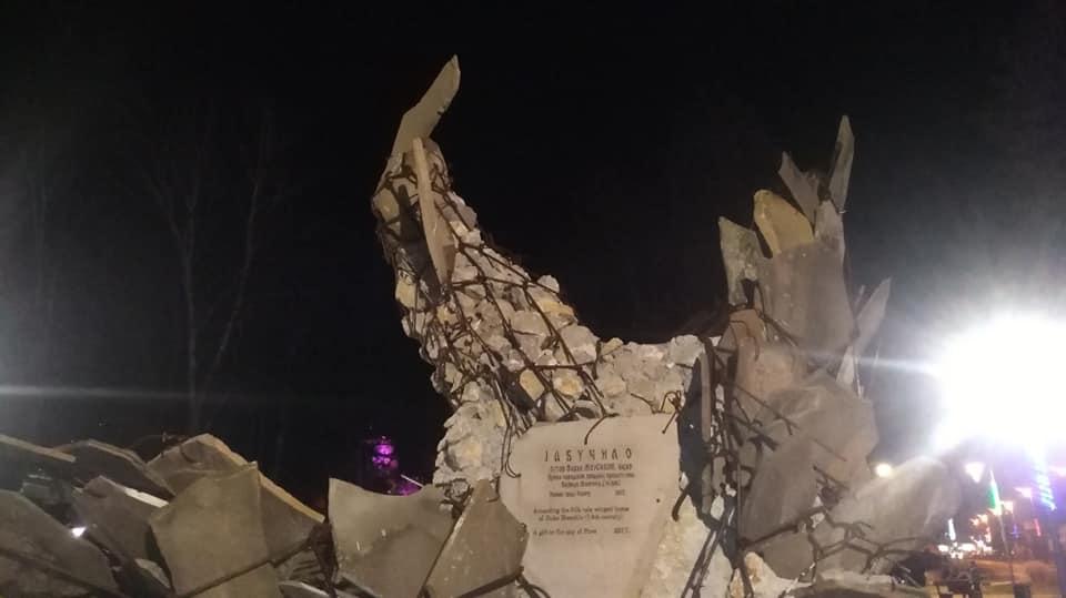 Photo of Jabučilo ostao bez glave! Vandali oskrnavili zaštitni znak parka pored Tvrđave