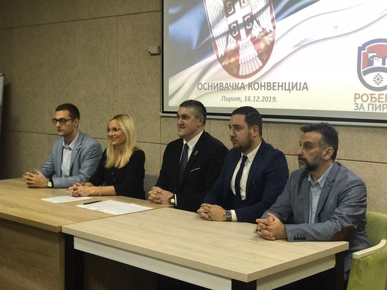 """Photo of Osnivačka skupština Pokreta """"Rođeni za Pirot"""""""
