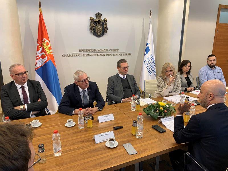 Photo of Poseta visoke delegacije Svetske organizacije slobodnih zona Srbiji